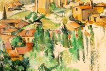 Paintings / Paintings I love. Cézanne and other impressionists could fill out my board completely.