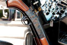 V-Twin-Gun / #guns #sculls #vtwin #interior #customdesign #homedecor