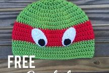 Crochet childrens hats