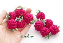 Häkeln Früchte