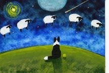 border collies, sheep / by Maire B