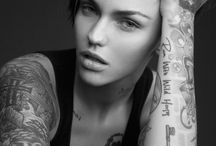 Ruby Rose / adrogyny vibes <3 My kind of vibes <3