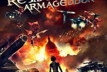 "Resident Evil Armaggedon 3D   / Les affiches du 6 eme film de la saga ""resident evil"""