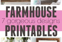 Farmhouse Printables