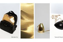 The Golden touch trend-moodboard inspiration