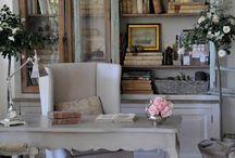 elegant study corner