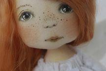 текстильные. куклы