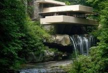 "Architecture: Modern/Mid-century / Contemporary and mid-century ""modern"" minimalistic architecture"