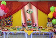 Festa Circo Giovanna 1 ano / Idealizada pela mamãe Carla Roris