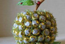 Подарки с конфетами