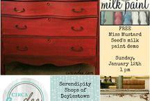 / milk paint: WORKSHOPS /