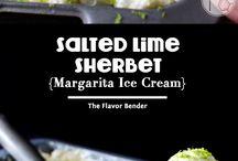 Icecream and Sherbet