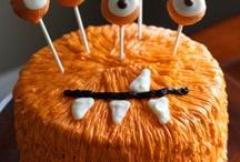 Pop cake Halloween