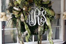 Wreaths & Door hangers