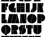 Typography / Typographical styles that may be conducive for use in  future illustration work