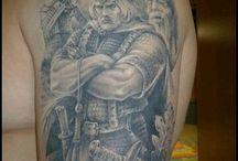 Тату воин