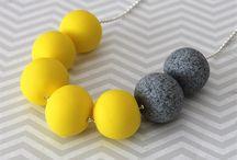 Polymer Clay Jewelry Minimalist