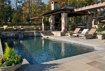 Swimming pools / Pics of gorgeous swimming pools. #swimmingpools #pebbletec #spas