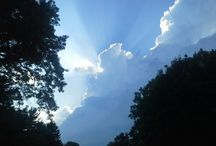 Clouds Clear My Mind / Clouds captivate emotions and imagination. I wish I really could float with them.