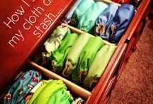 Cloth Diaper Organization / Looking for tips on organizing your #clothdiapers?  Get inspired here!