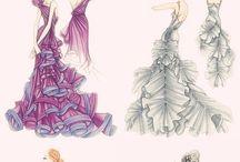 fashion sketces