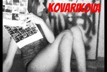 Erika Kovarikova / artist czech painter model