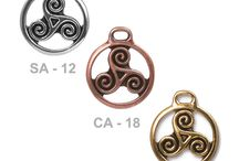 Celtic Collection / a collection of celtic themed jewelry and components