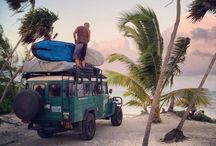 Surf culture / Surfing, traveling, waves, relaxing