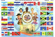 Día de las Américas. 14 de abril. / Día de las Américas. Imágenes relacionadas.