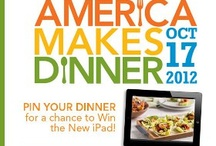 #AmericaMakesDinner / by Tiffany C