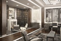 Interiors in the Art Deco style / flats and houses that we designed