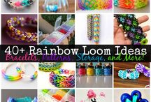 Somewhere Over The Rainbow Loom / Rainbow Loom Ideas