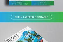 Flyer templates