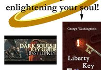 """Puns / Pun, and more puns, in """"George Washington's Liberty Key:  Mount Vernon's Bastille Key -- the Mystery and Magic of Its Body, Mind, and Soul.""""  (Character, Culture, Constitution).  www.LibertyKey.US"""