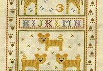 Baby Cross Stitch / All our favourite cross stitch designs for new bundles of joy