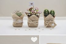 wedding gifts / ideas de regalos para invitados de boda