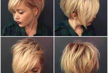 Maquiagem de cabelo