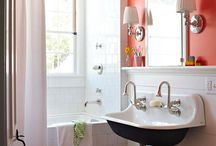 Decorating - Main Floor Bath / by Odessa Cooley