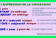 Grammaire / Des ressources pour apprendre et enseigner la grammaire française / by Francés, français, french, fle