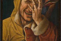 gusha / fool, jester, joker, clown, pierrot 愚者や道化の類 http://www.alchemywebsite.com/tarot/tarot_directory.html http://www.alchemywebsite.com/tarot/Tarot_database_Europe.html http://www.larsdatter.com/foolwear.htm