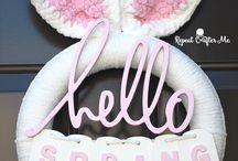 crochet wreath
