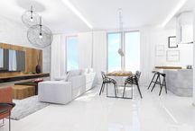Denná zóna / Flat, living room, apartment, maisonette, loft, residence, denná zóna, byt, mezonet, denní zóna
