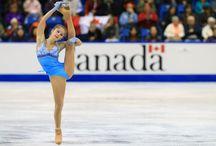 Russische Eiskunstläuferinnen