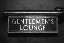 Gentlemens lounge