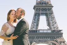 Wedding in Paris, City of Lights