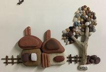Κάδρα με πέτρες