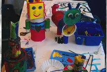 Art Projects: 3-D / Paper, clay, recycled, wire... / by Jane Hastings