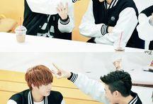 0. Bts Rap Monster and Jin
