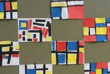 Piet Mondriaan thema