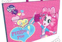 Maletines Plásticos My Little Pony / Línea Escolar Primavera Regresa a Clases con TODO